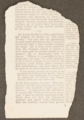 Press cutting from Diary: January - June 1936, p0002
