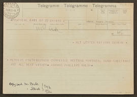 Telegram from Hambro Phillips Malik to Seán Lester, p0001