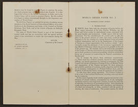 World Order Papers, No. 2 (1940), p0004