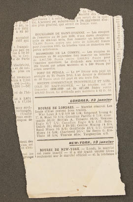 Newspaper cutting from Diary: August 1939 - April 1940, p0006